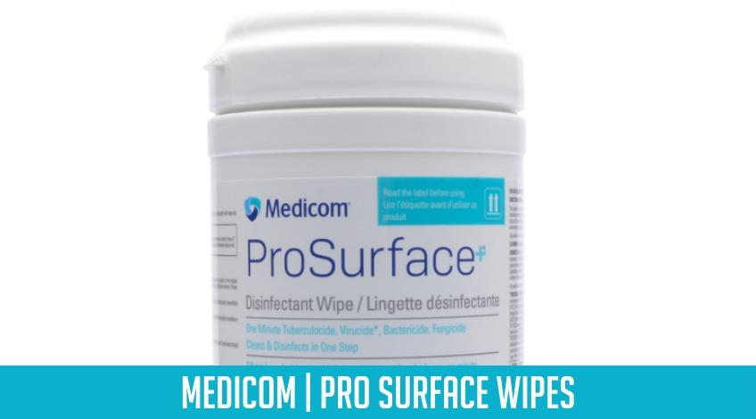 New@Eikon | Medicom Pro Surface Wipes