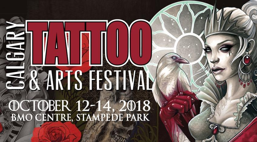 Recap from the Road:  Calgary Tattoo Convention 2018