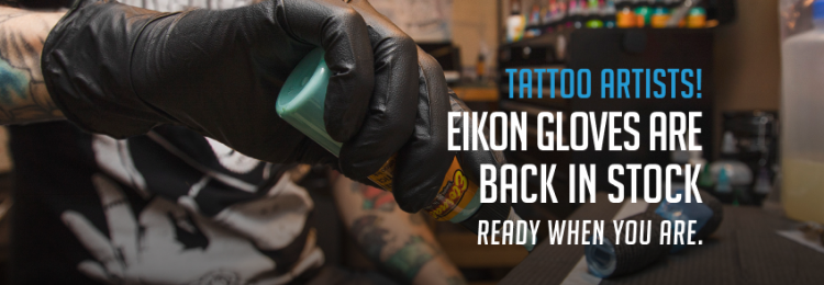 Eikon Gloves Premium &  Standard are available