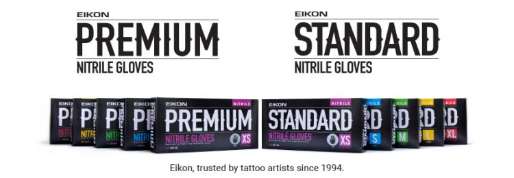 Introducing... Eikon Nitrile Tattoo Gloves