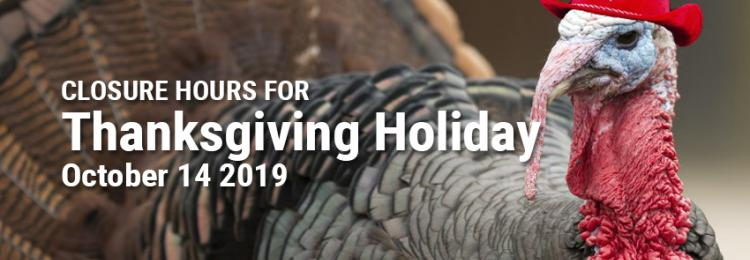 Thanksgiving Holiday Closure