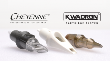 Eikon Device carry Cheyenne, Kwadron tattoo cartridge