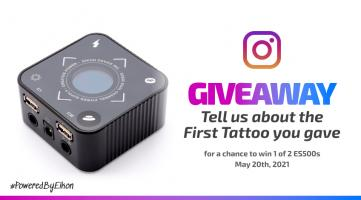 ES500 Giveaway – You always remember your first...