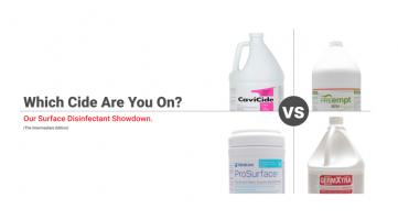 Intermediate Surface Disinfectants – More Options, More choice.